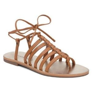 Lucky Brand Colette Sandal in Brown Sugar - Size 6